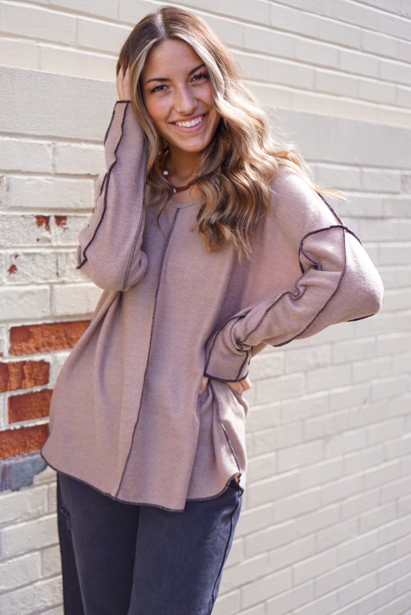 Fall In Love Mocha Top