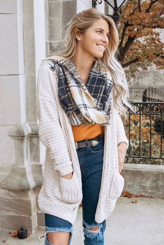 Heidi Plaid Top