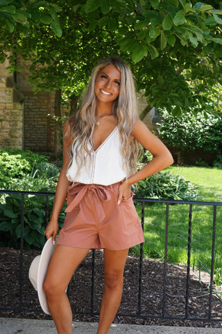 Miles Away Mauve Top