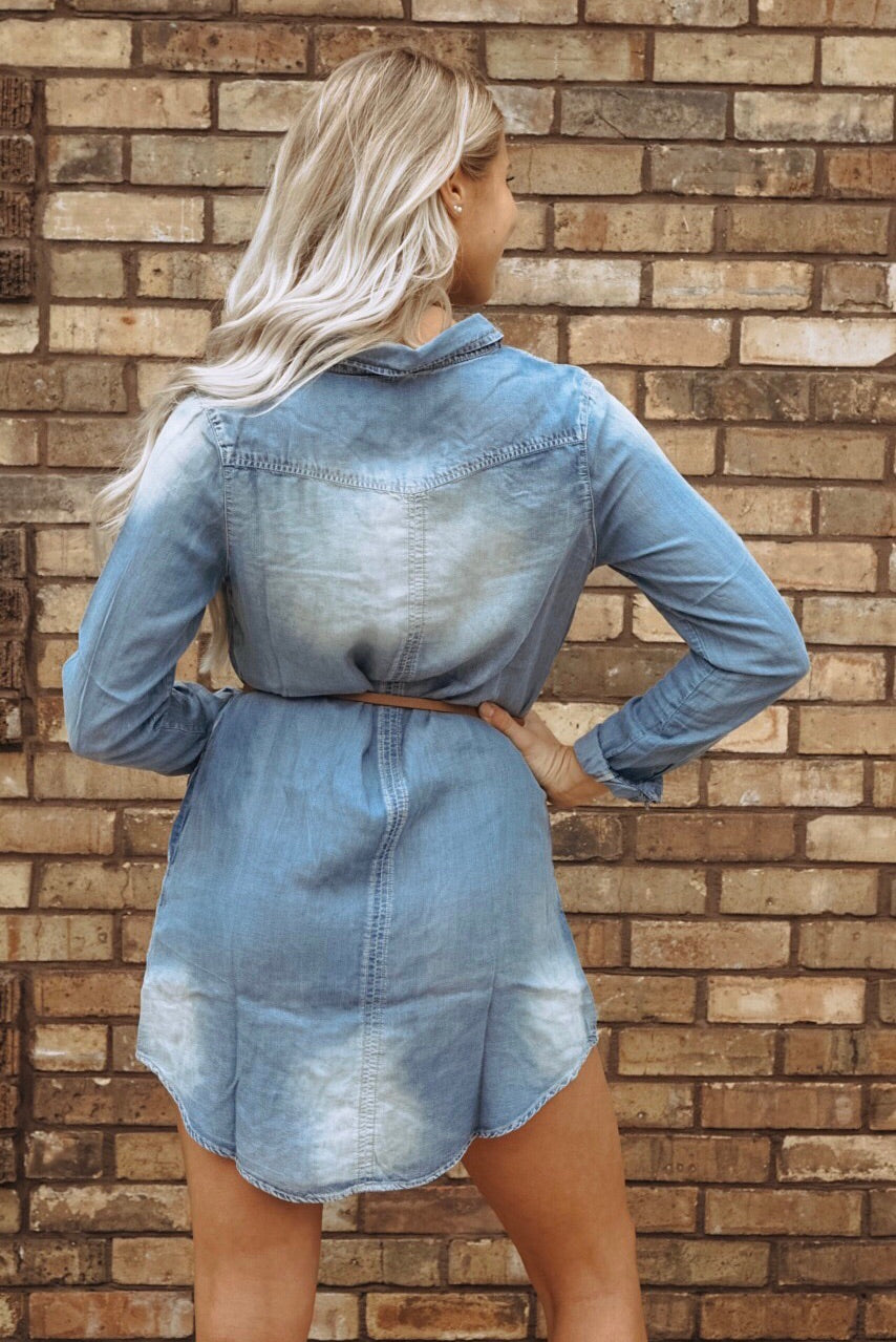 Dana Denim Tunic