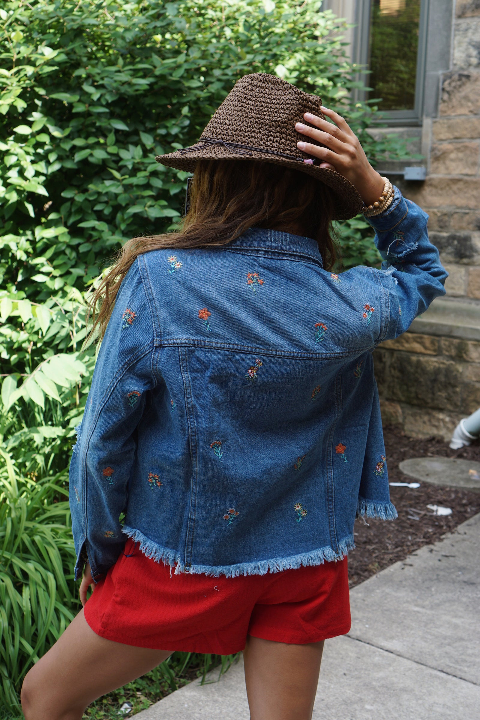 Floral Dream Denim Jacket