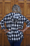 Presley Plaid Top