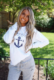 Lake Girl White Always And Forever Tee