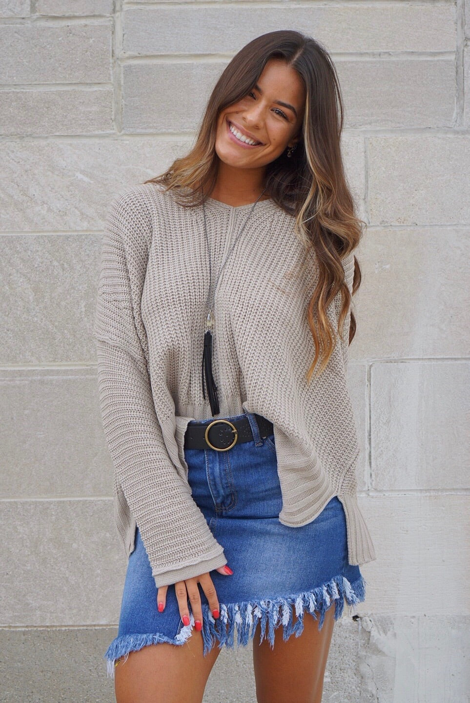 Meredith Oversized Sweater