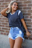 Hot Shot Denim Shorts