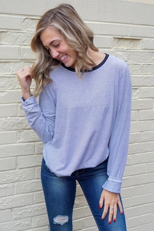 Love Like This Ivory Striped Top