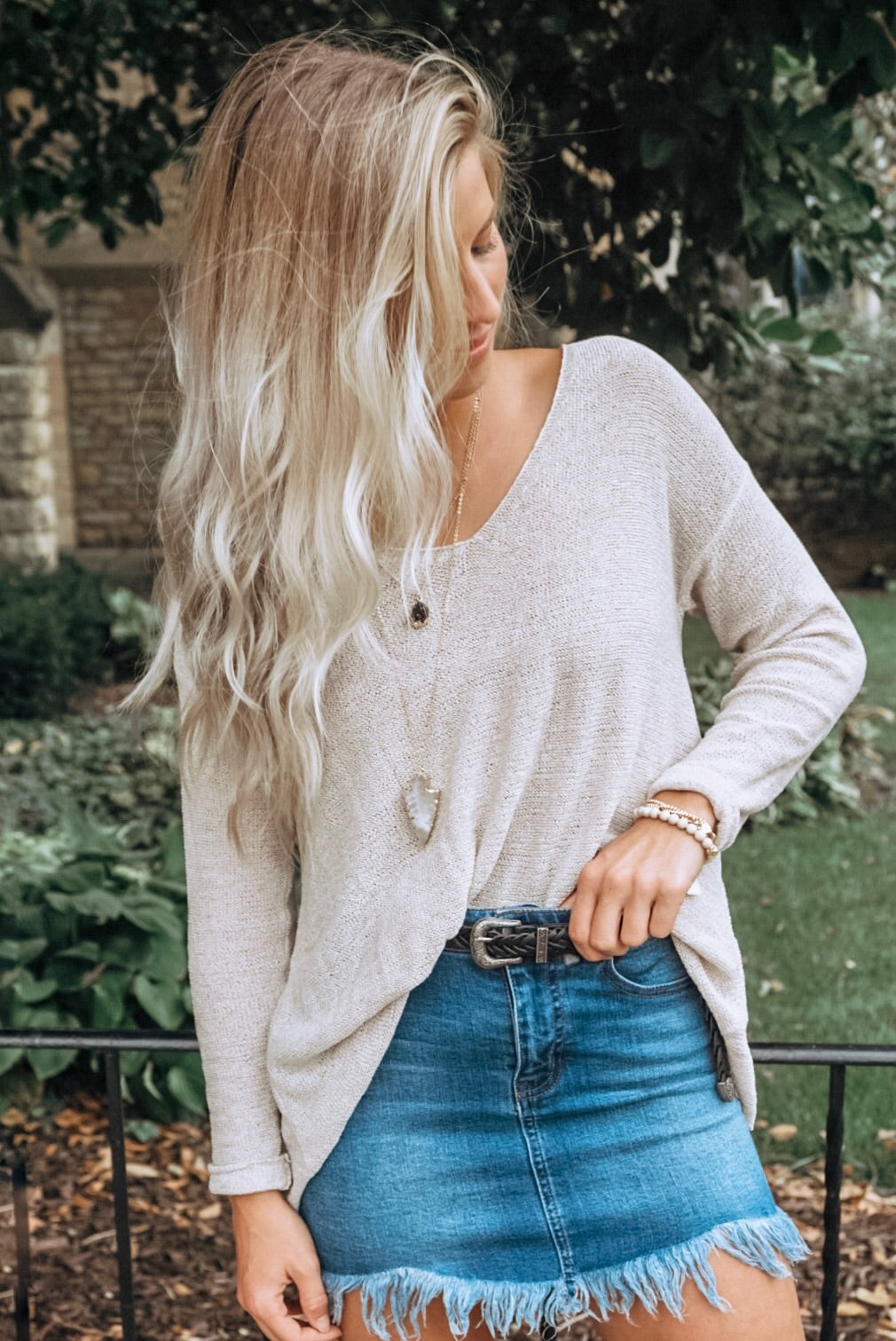 Skylier Knit Top
