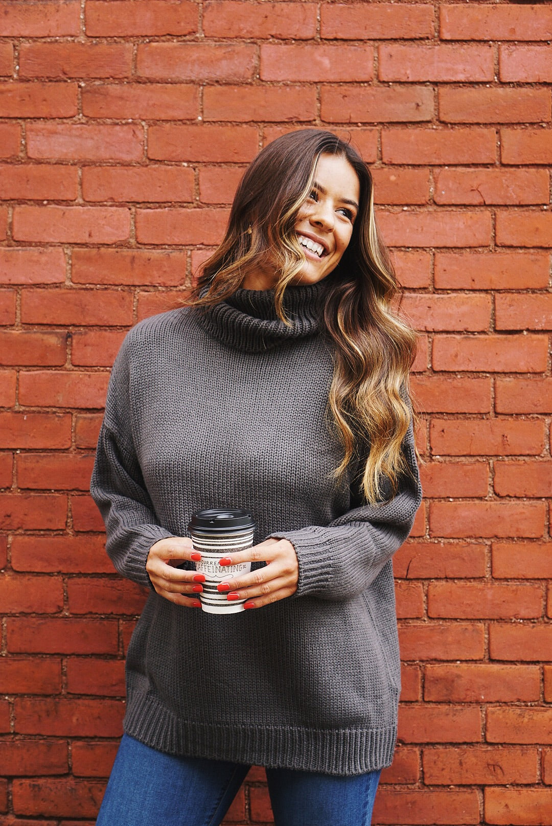 Emily Turtle Neck Sweater