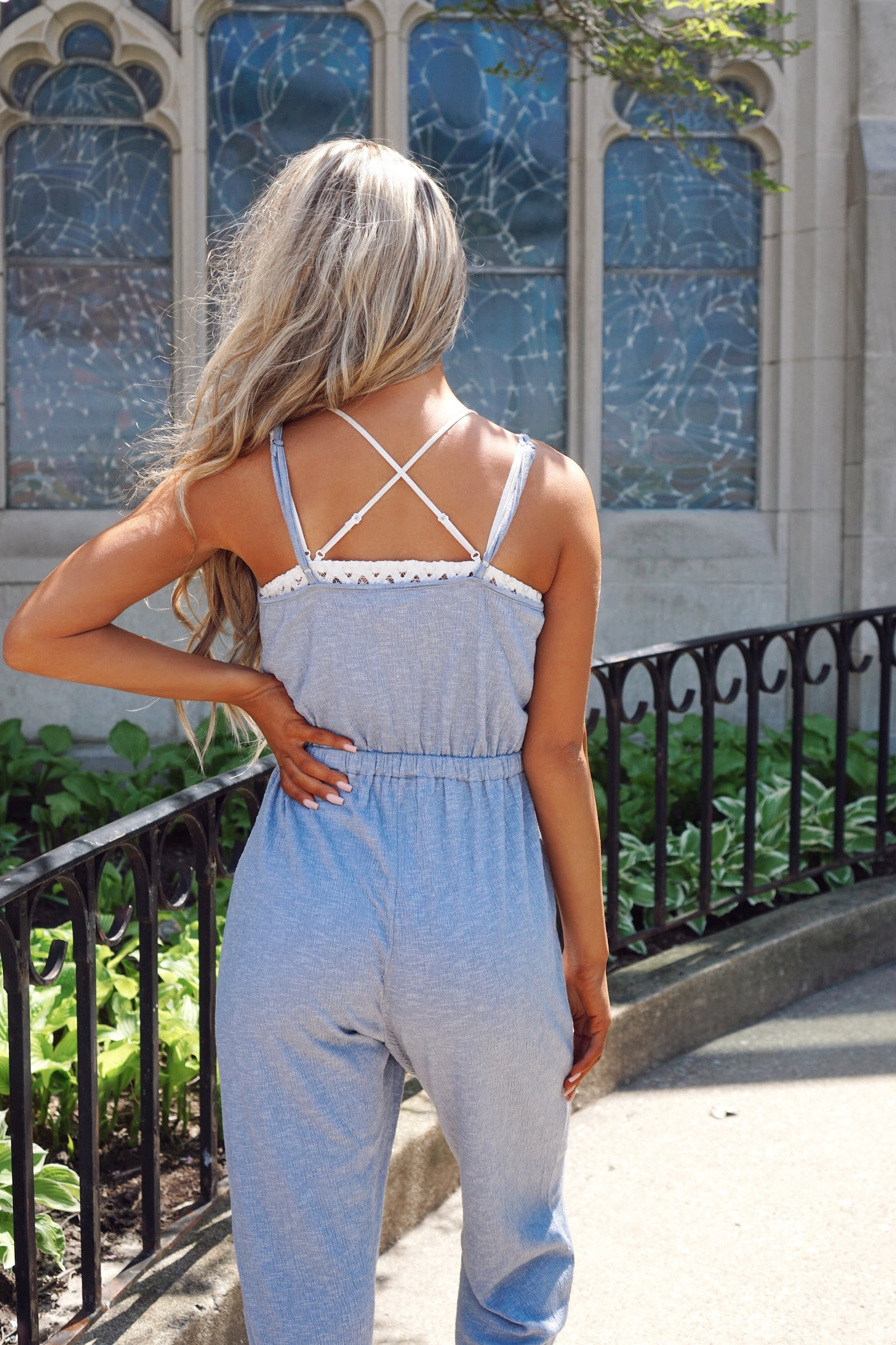 Daydreamer Blue Jumpsuit