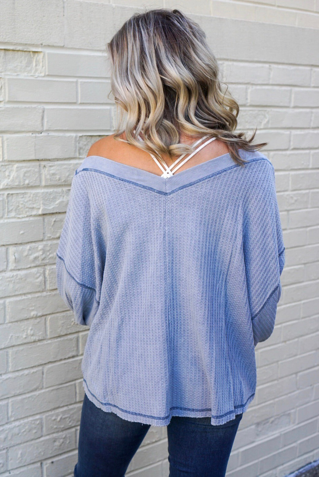 DeLaney Blue Washed Thermal