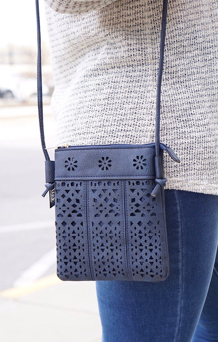 Cut Out Shoulder Bag