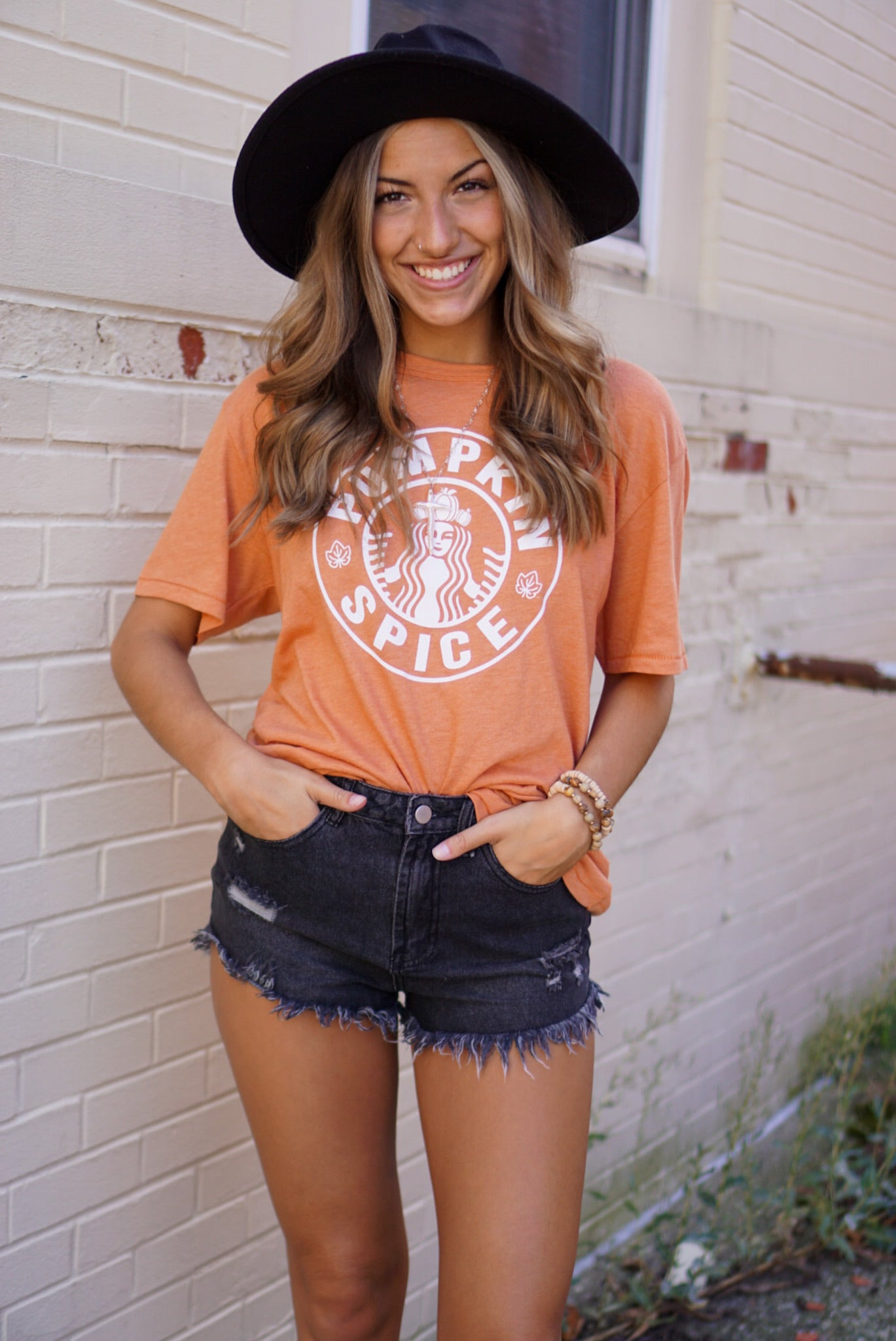 Pumpkin Spice And Everything Nice Rust Tee