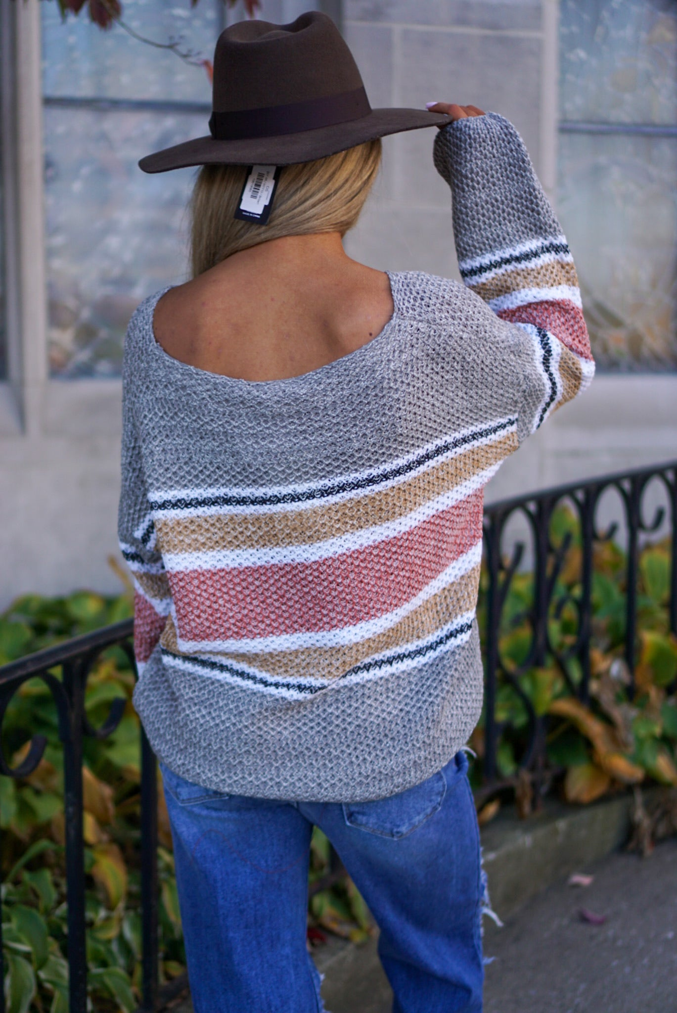 Rowan Grey Sweater