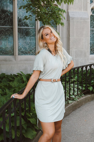 Taylor Grey T-Shirt Dress