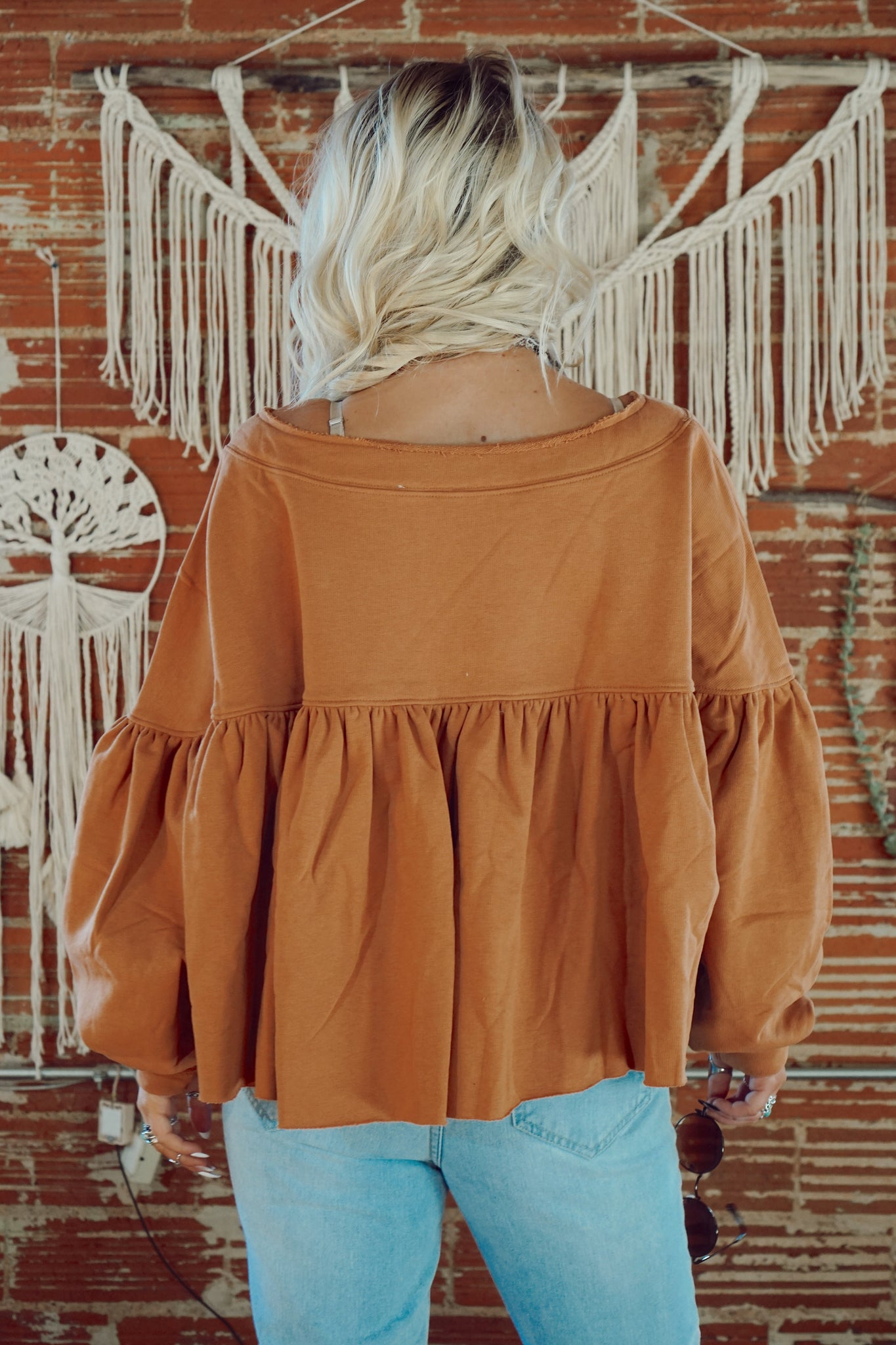 My New Obsession Cinnamon Top