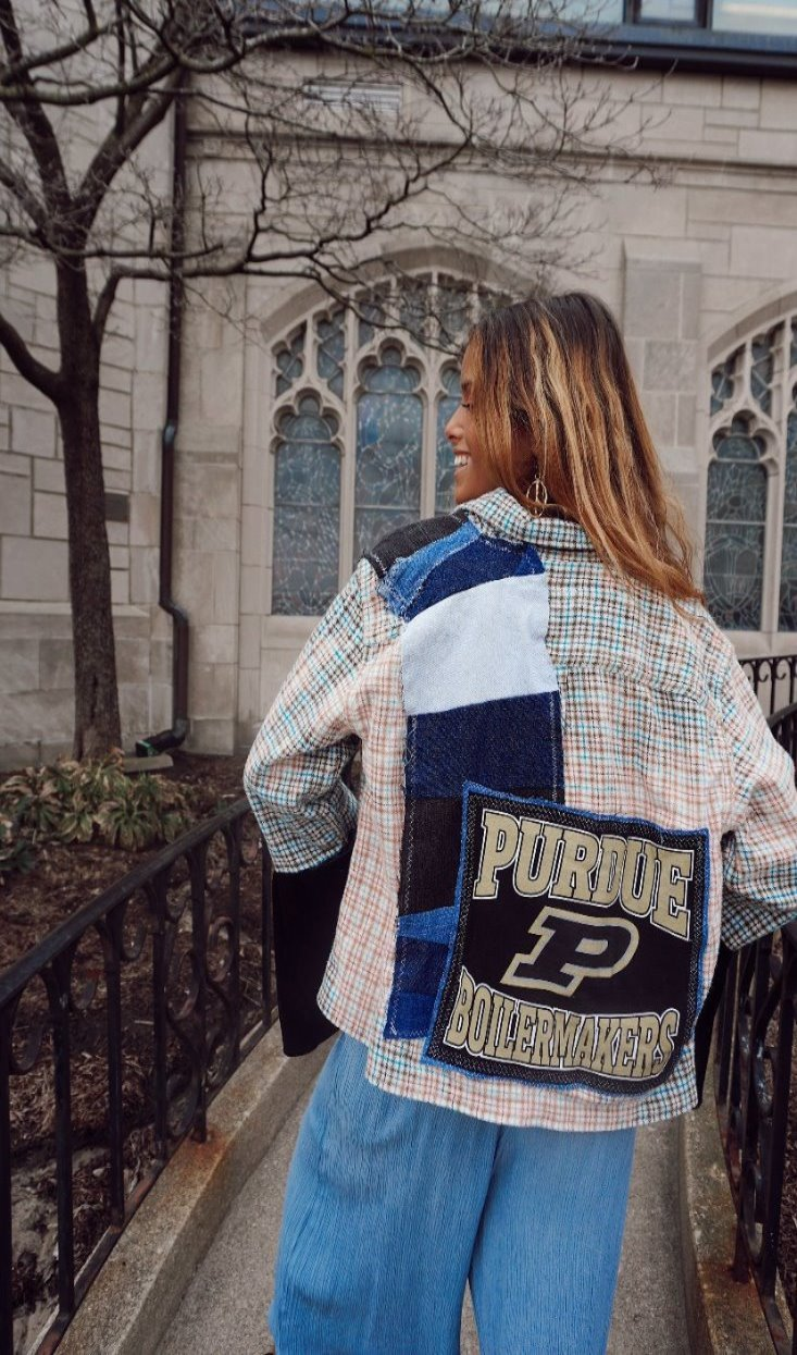Custom Purdue University Flannel