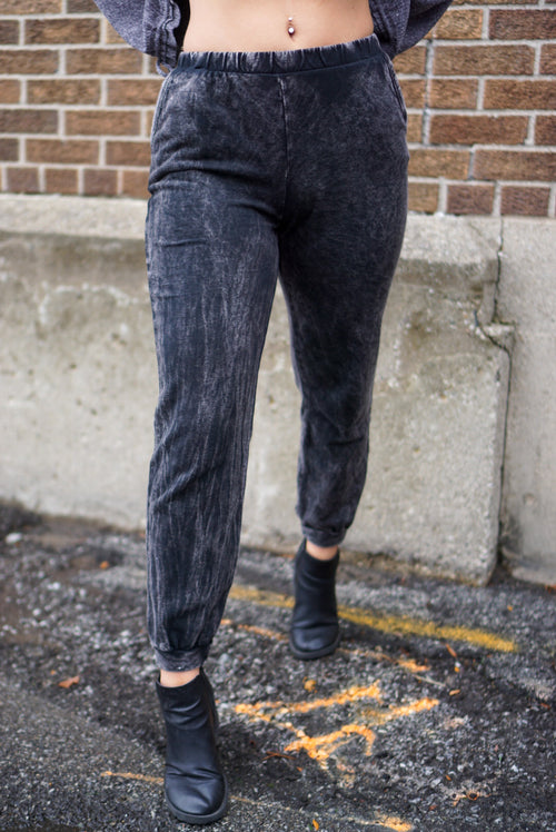 City Slicker Black Joggers