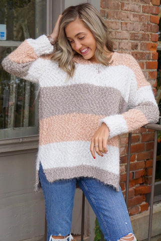 Polly Rose Chenille Sweater