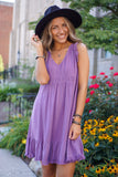 Sunshine & Whiskey Amethyst Dress