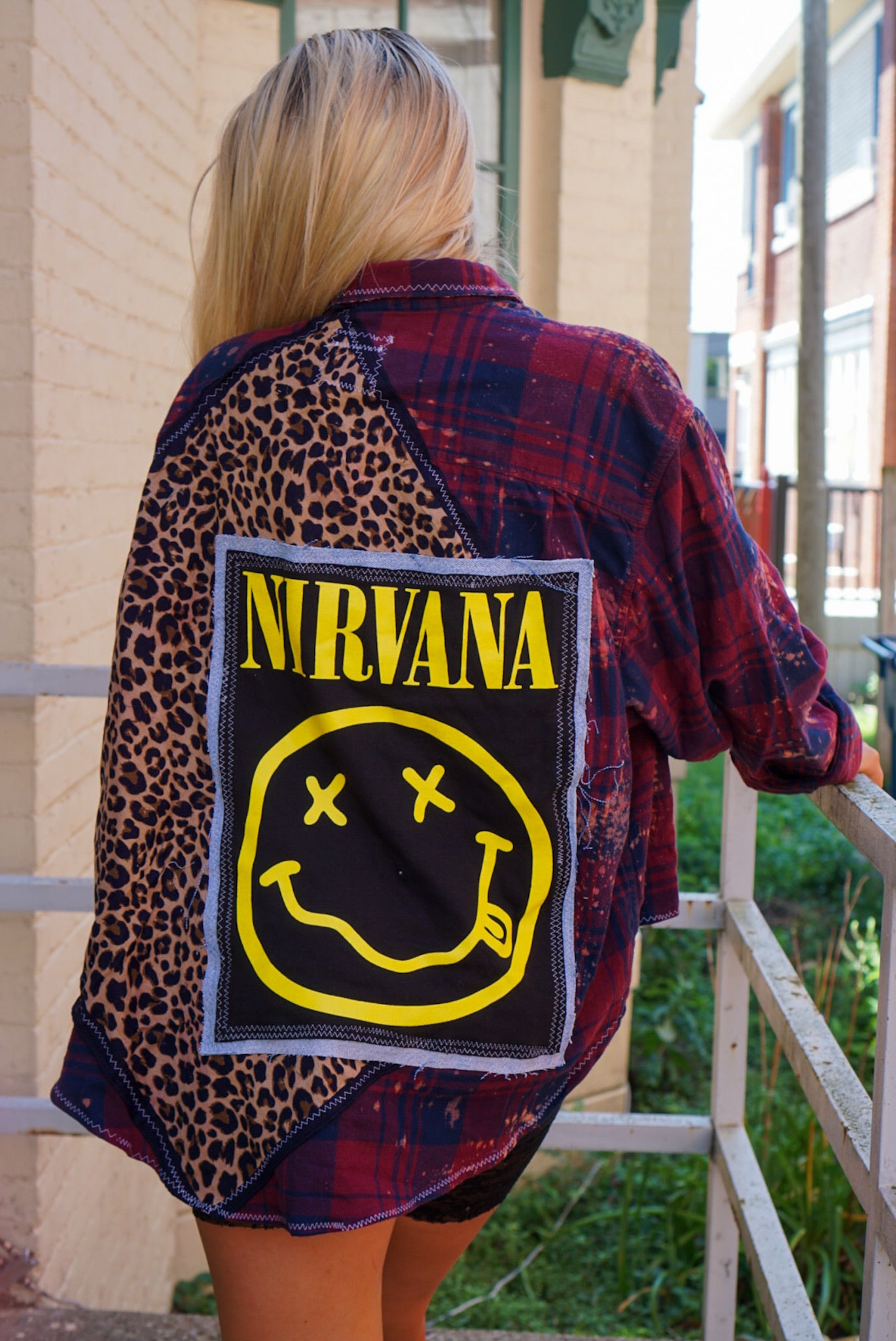 Custom Sanguine Nirvana Flannel