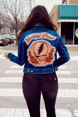 Custom Doors Denim Jacket