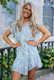 Hallie Blue Floral Dress