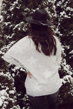 Serendipity Grey Distressed Star Sweater