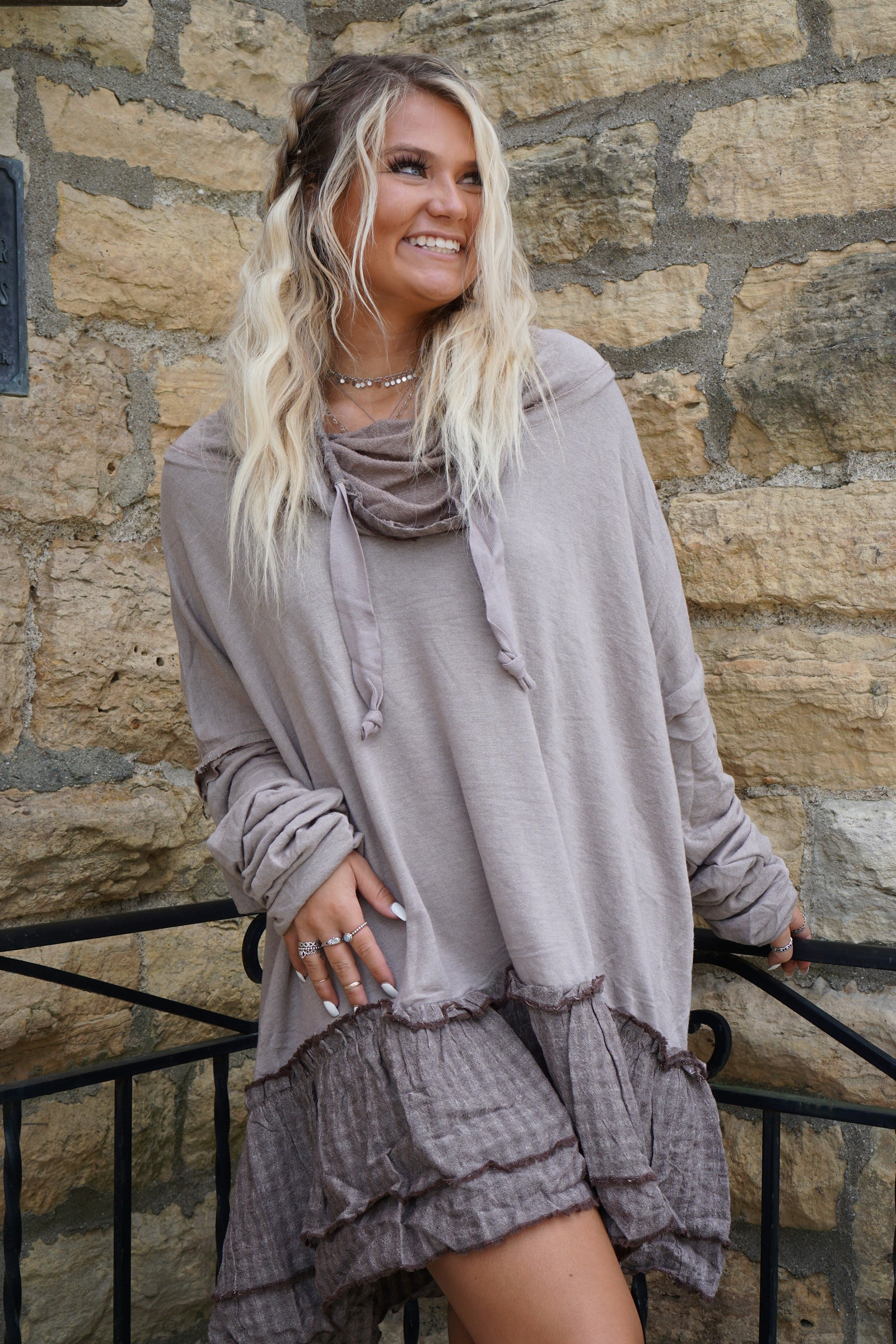 Meant To Be Mocha Tunic