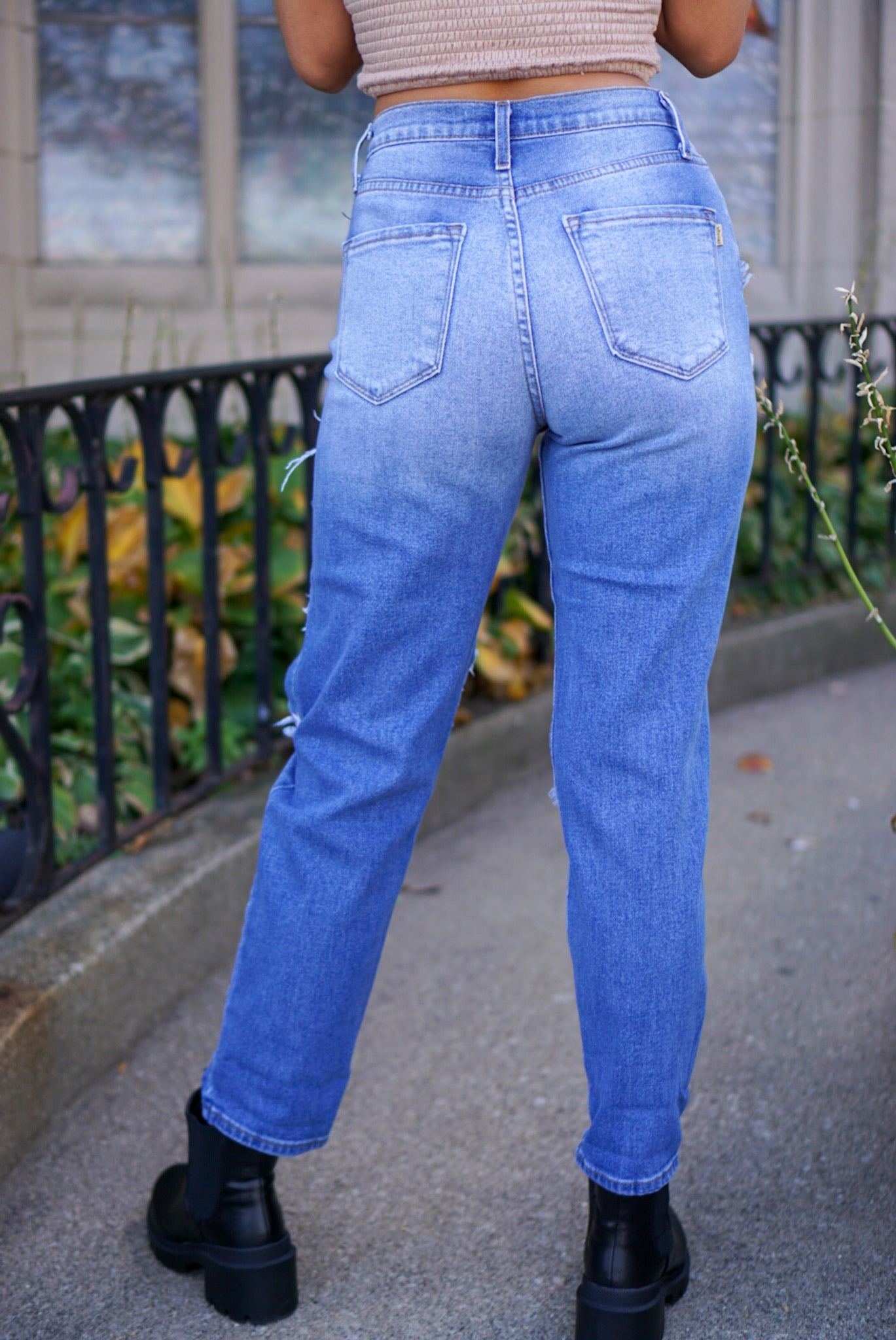 Real Talk Medium Wash Denim Jeans