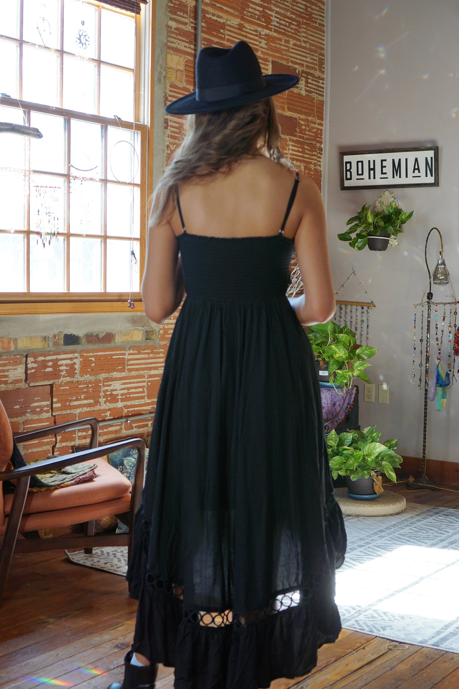 Mockingbird Black Dress