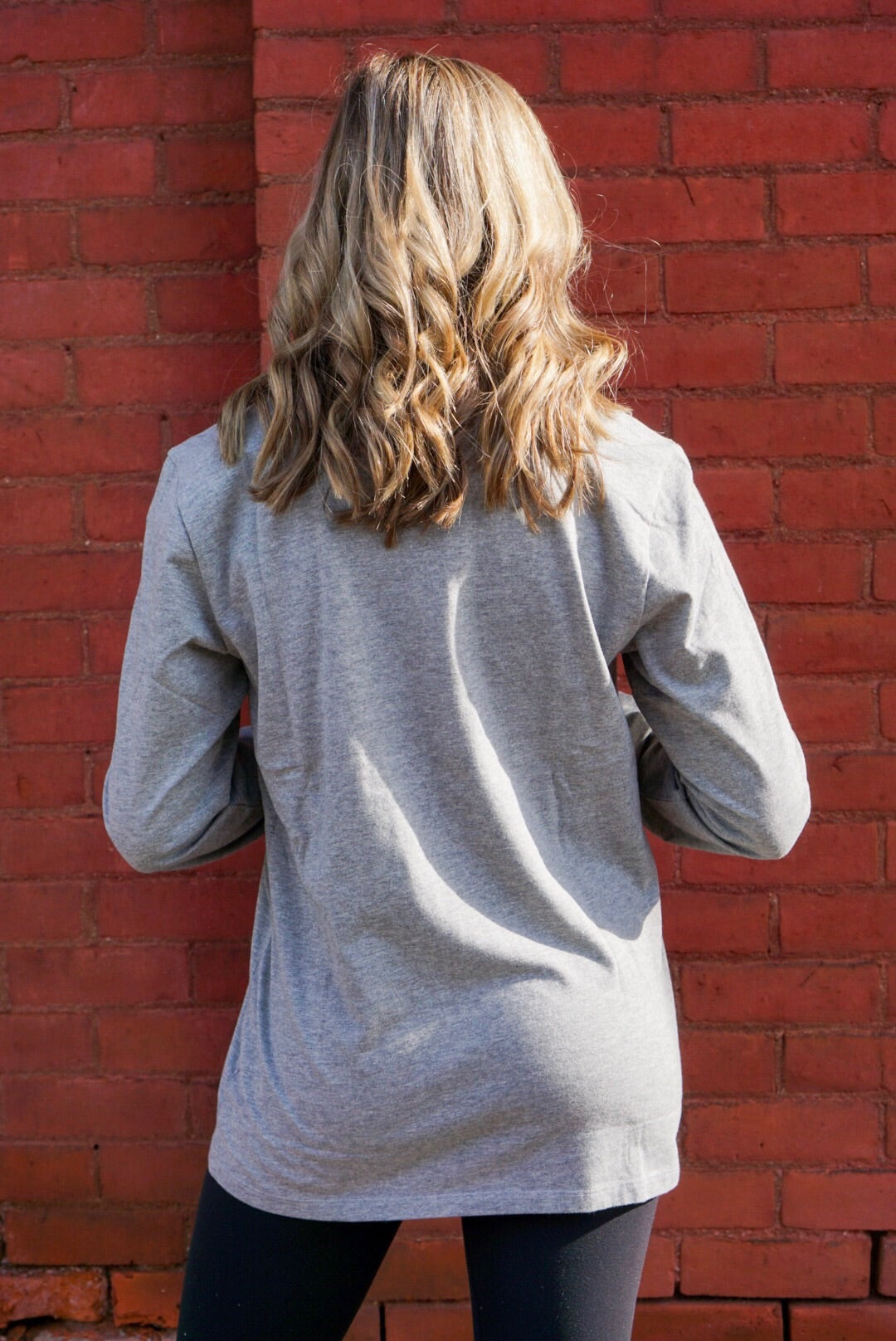 Life Is Good Grey Keep It Simple Top