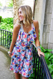 Multi Floral Printed Dress