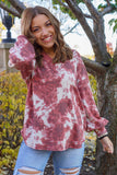 Sunset Stars Rust V-Neck Thermal