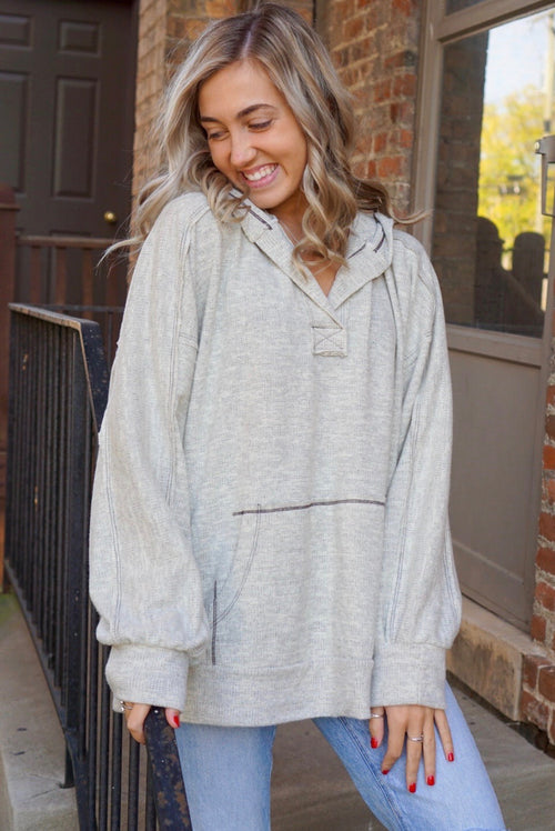 Miranda Heather Grey Hoodie
