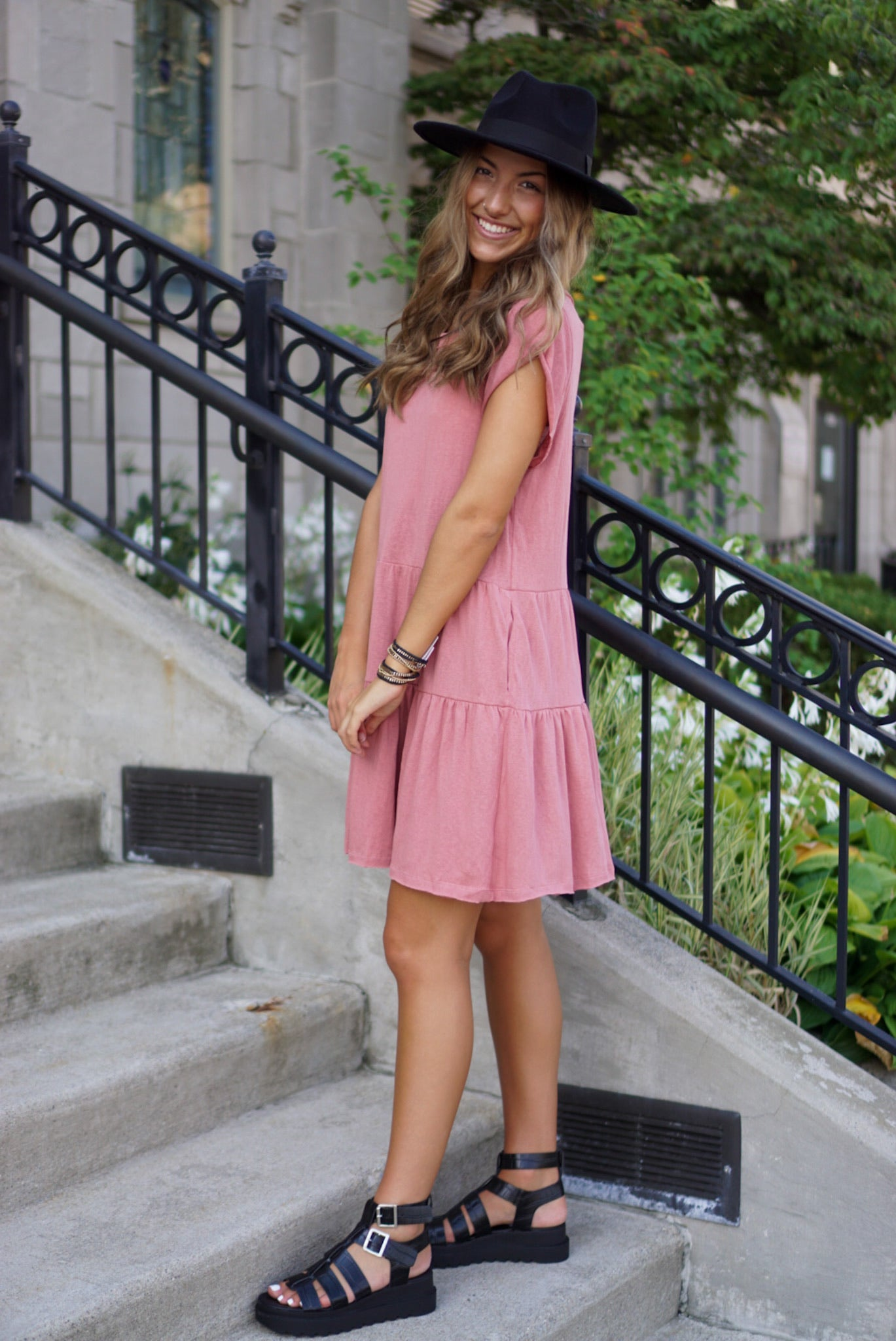 Wild And Free Rose Dress