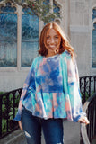 Cayla Purple Tie Dye Thermal