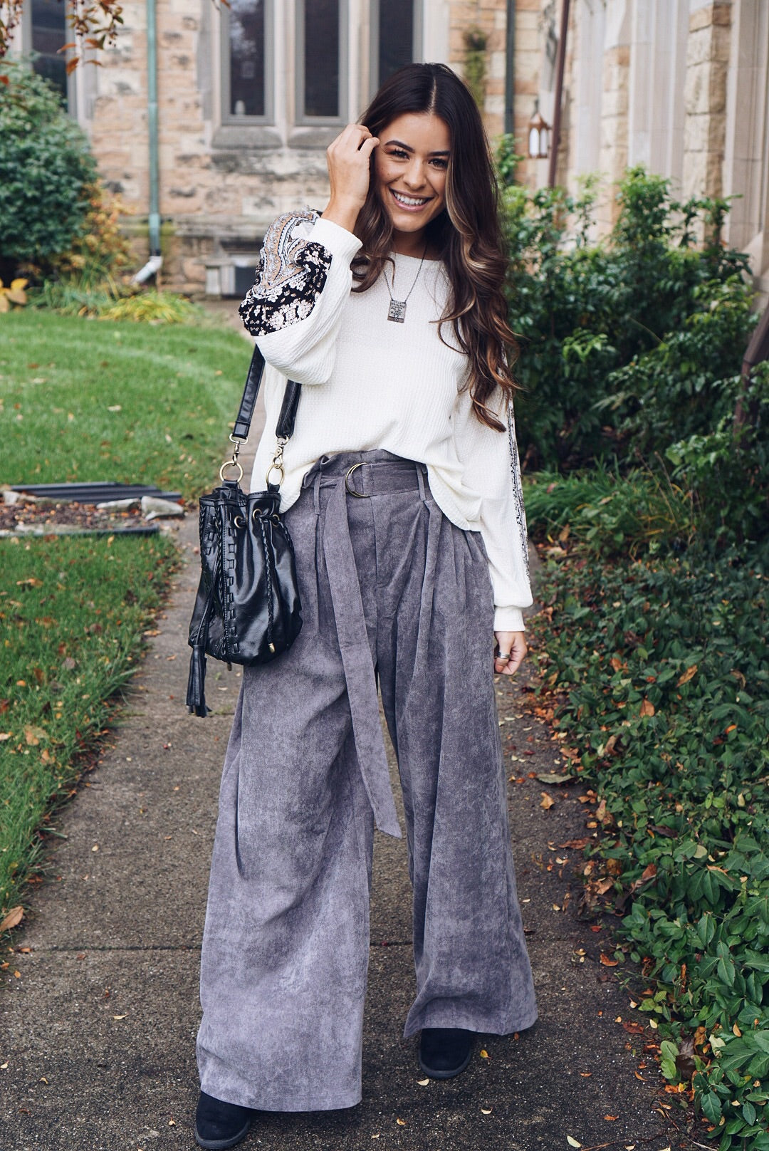 Grey Paris Pants