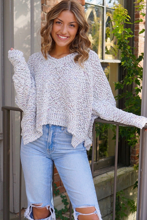 Chloe Ivory Sweater