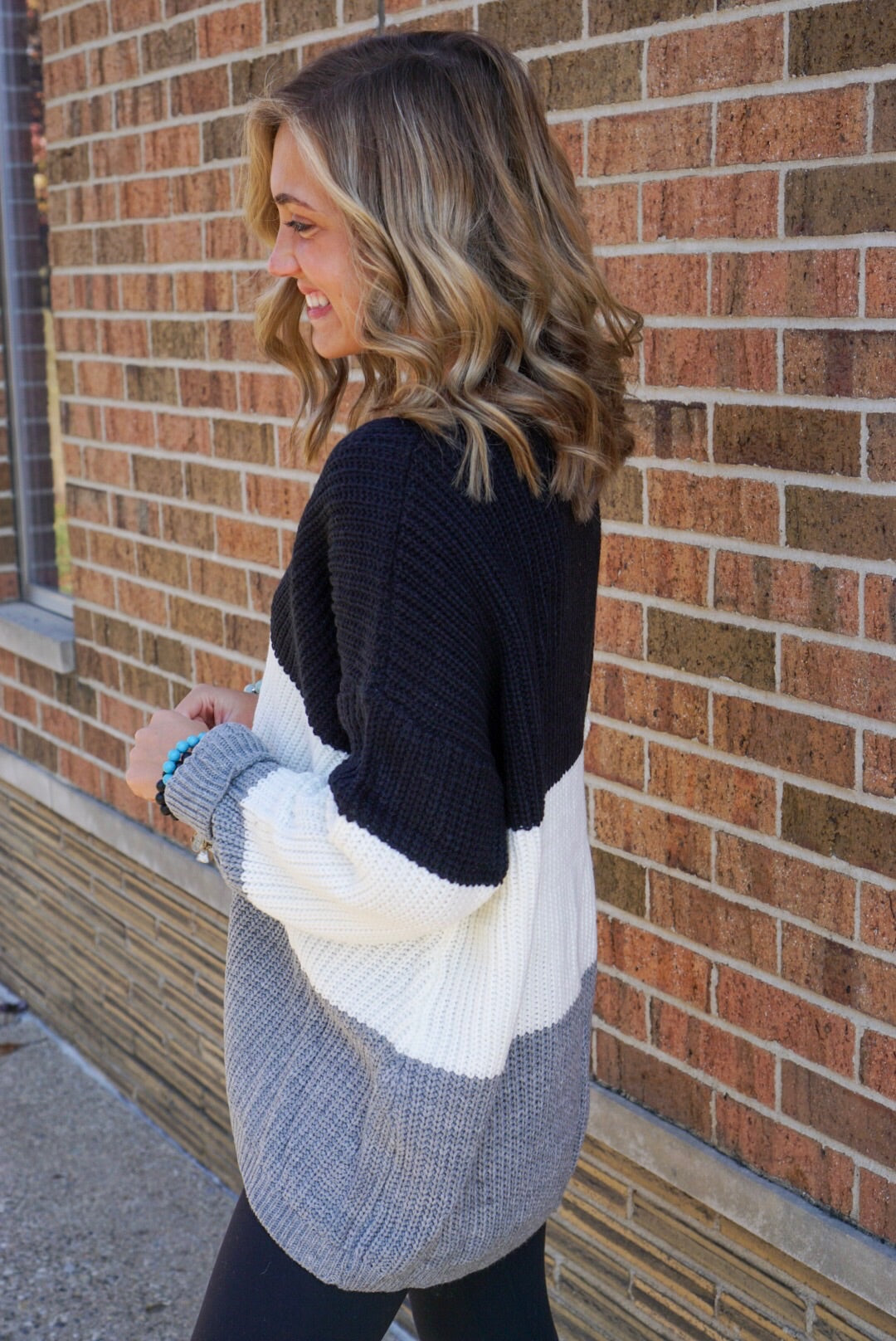 Seforia Color Block Sweater