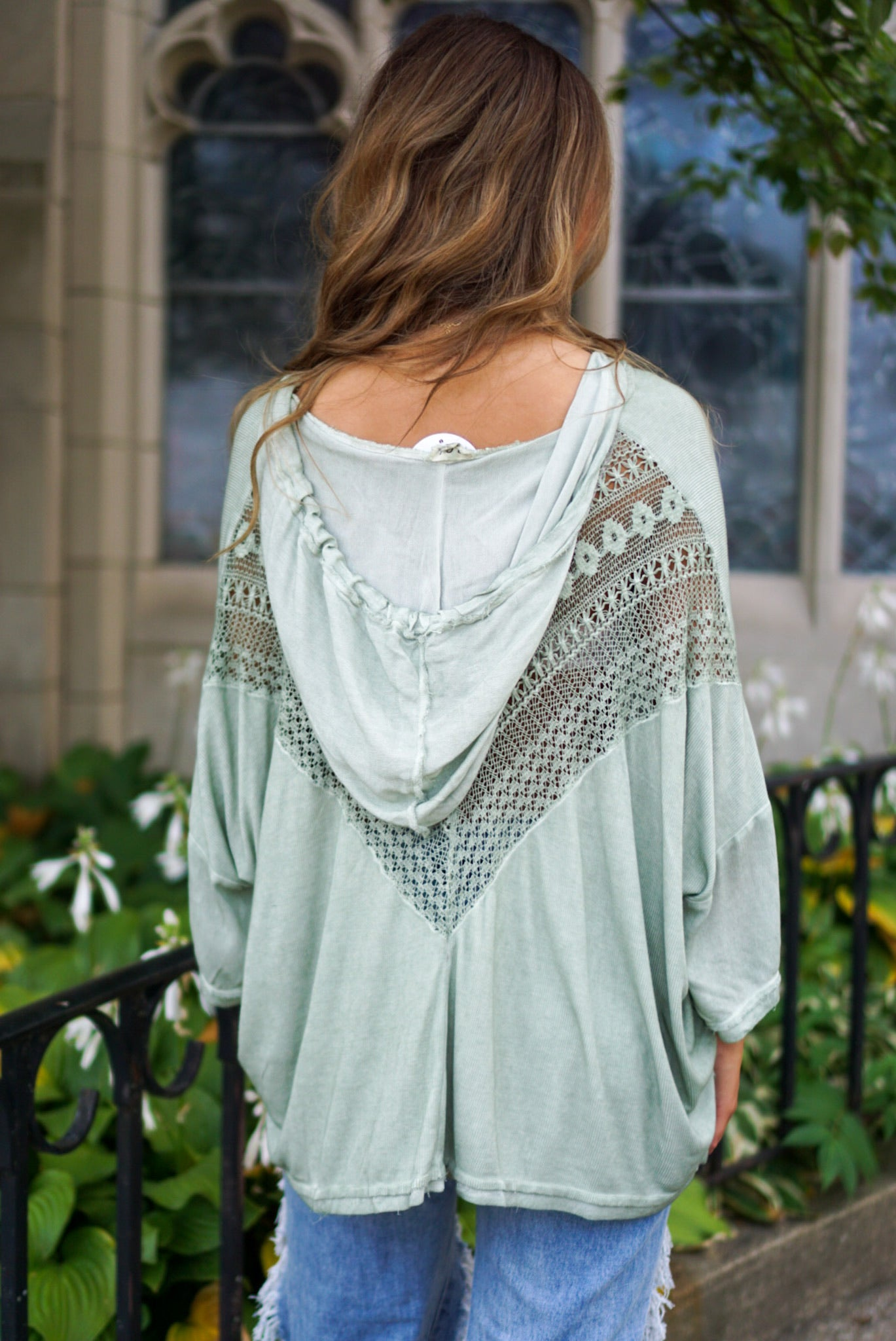 Saving Grace Desert Sage Top