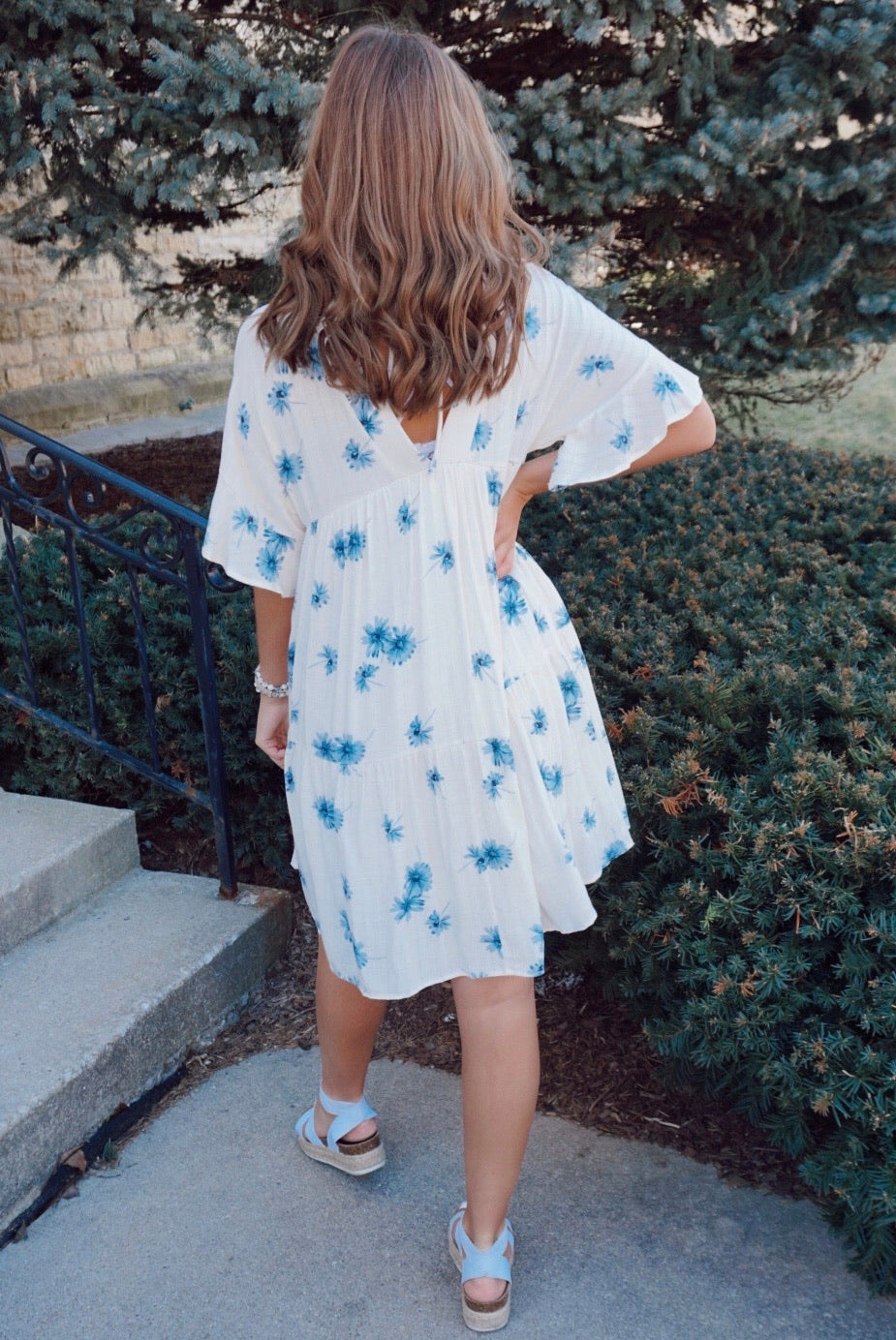 Sun Chaser Floral Babydoll Dress