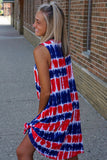 Red White & Blue Americana Dress