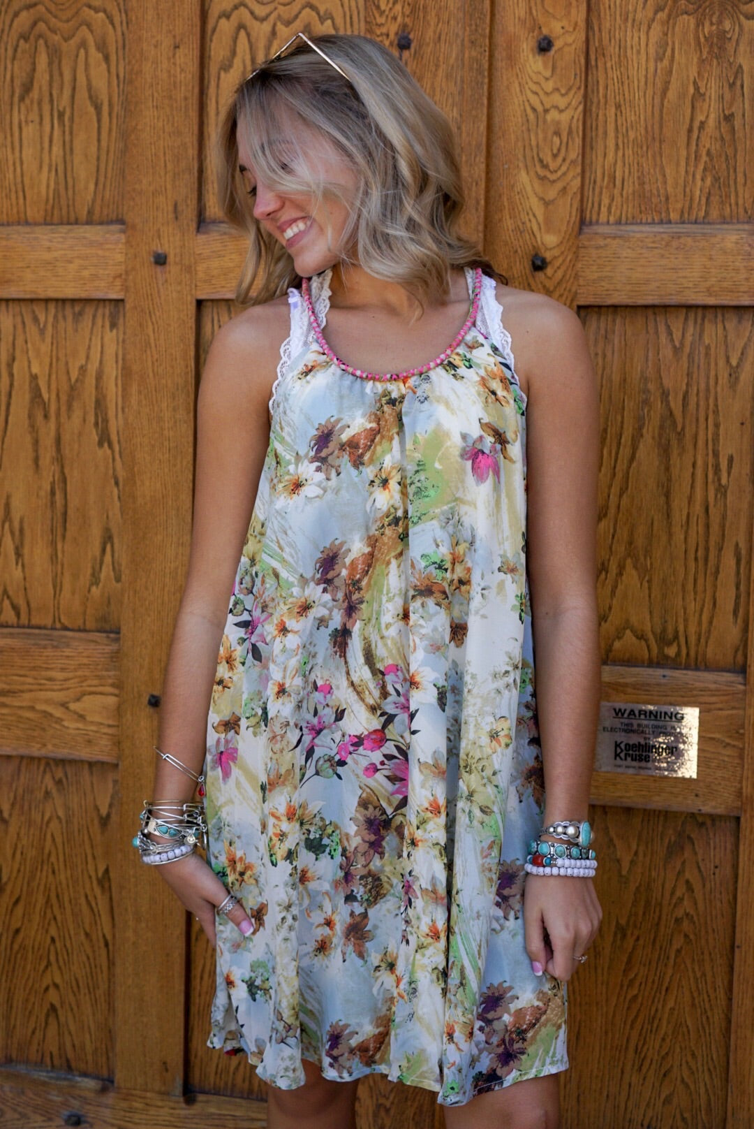 Citrus Halter Dress