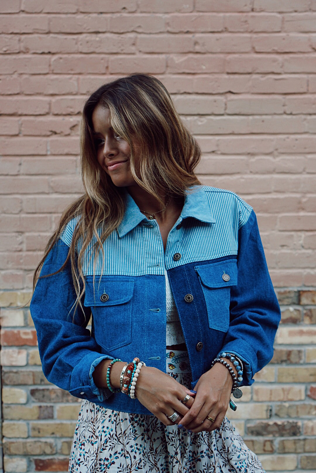 Patsy Patch Denim Jacket
