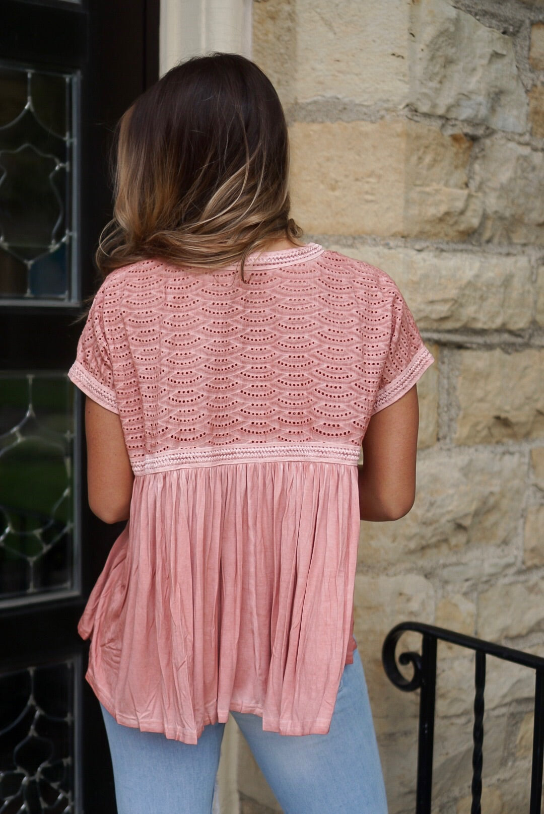 Rose Empire Crochet Top