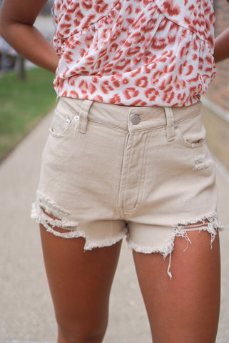 Blair Black Paperbag Shorts