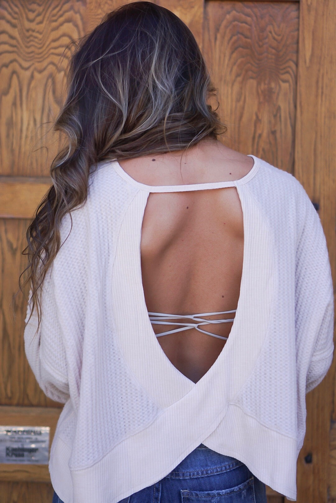 Taupe Cut Out Thermal