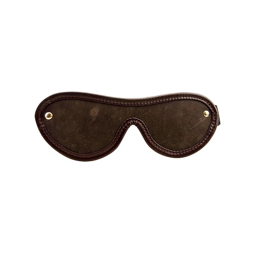 Nubuck Leather Blindfold