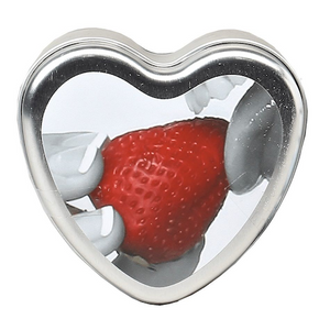 Earthly Body 3-in-1 Edible Heart Massage Candle