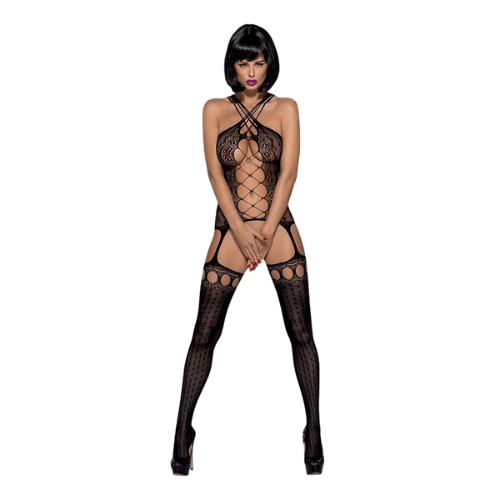Naughty Bodystocking - One Size Black